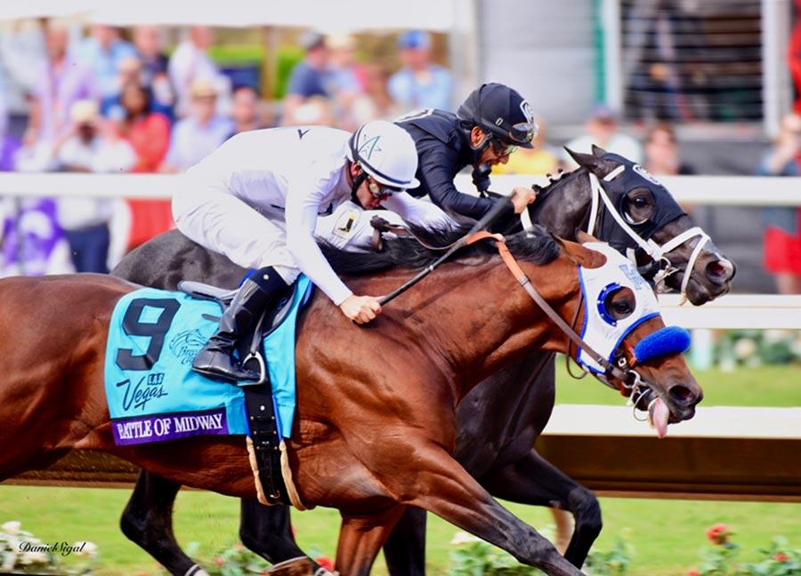 Battle of Midway Breaks Through in BC Dirt Mile