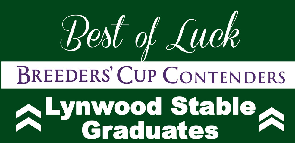 Best of Luck Breeders' Cup Contenders!