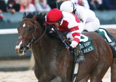 Omaha Beach broke by Lynwood Stable Wins Arkansas Derby