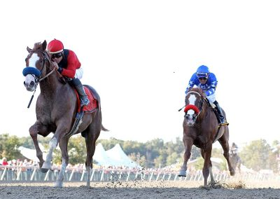 King Jack Wins Gallant Bob - Broke and Trained by Lynwood Stable, Ocala Florida